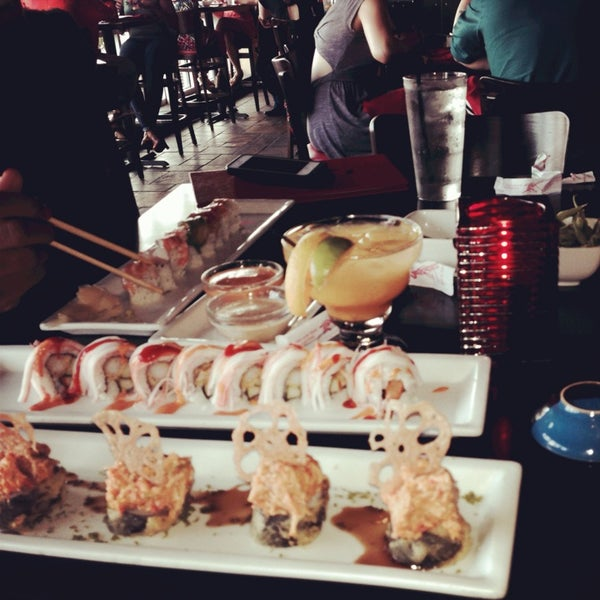 Photo taken at RA Sushi by Shawn K. on 7/28/2013