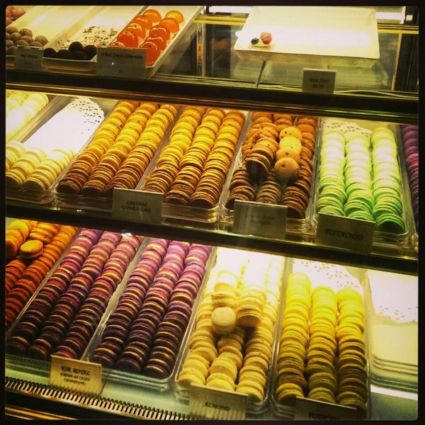 Photo taken at La Maison du Macaron by Steph L. on 4/3/2014