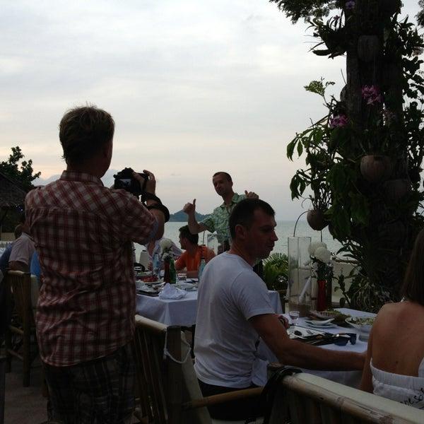 Photo taken at Orgasmic Restaurant by Марк К. on 1/5/2013
