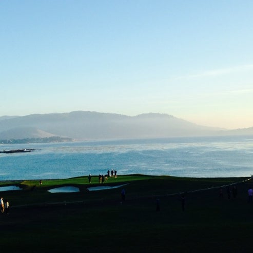 Photo taken at The Lodge at Pebble Beach by Phillip K. on 1/5/2014