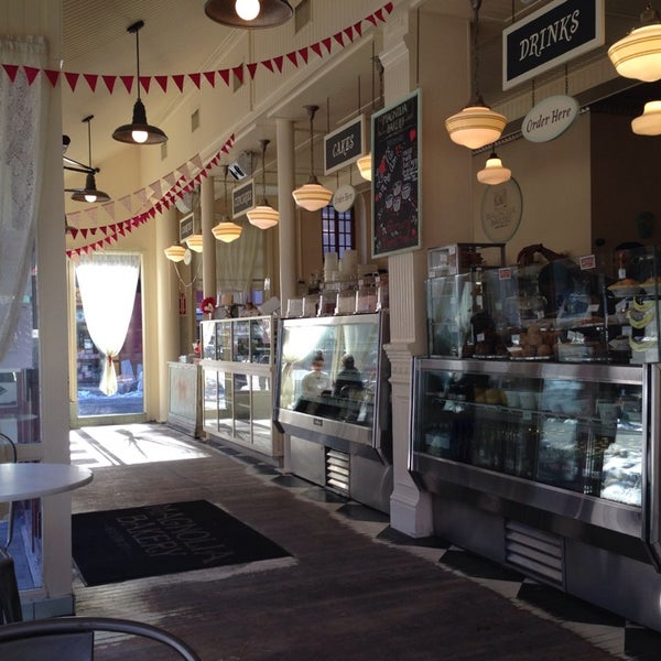 Photo taken at Magnolia Bakery by Brooke F. on 2/11/2014