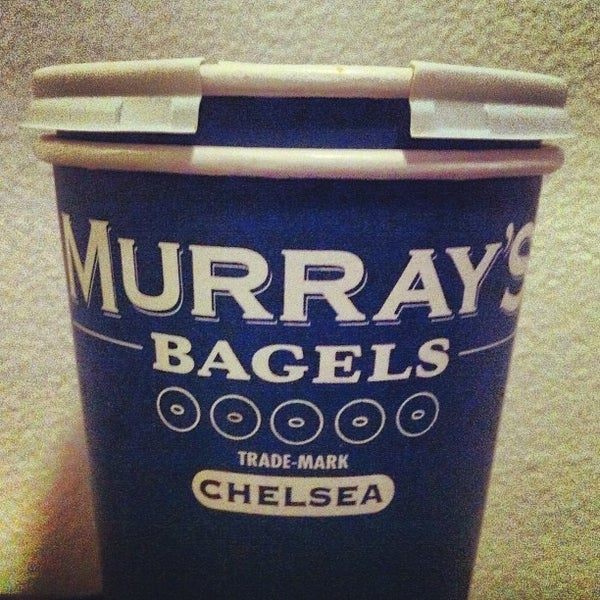 Photo taken at Murray's Bagels by Jon-Jon G. on 12/24/2012