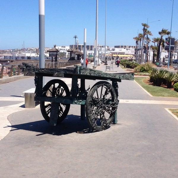 Photo taken at La Corniche de Casablanca by Hasnaa J. on 4/25/2013