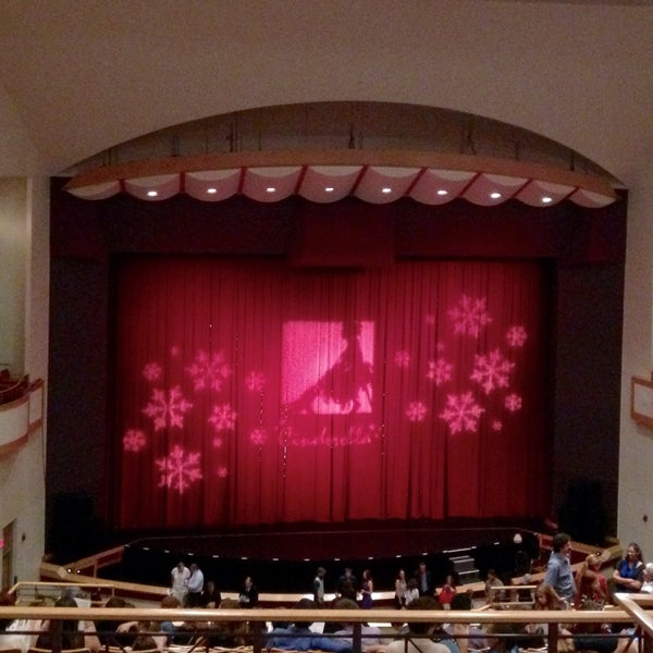 Photo taken at Curtis M. Phillips Center for the Performing Arts by Kevin C. on 12/7/2014