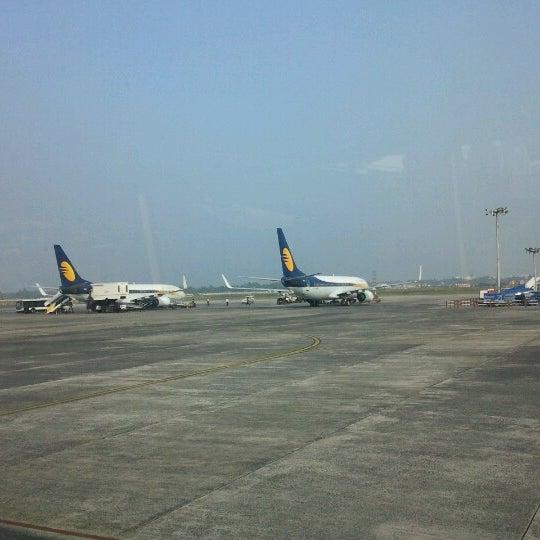 Photo taken at Netaji Subhash Chandra Bose International Airport (CCU) by Shankar S. on 12/30/2012