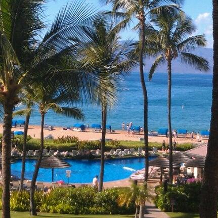 Photo taken at Sheraton Maui Resort & Spa by Erin W. on 12/22/2012