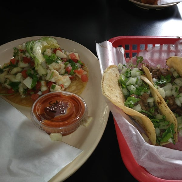 Photo taken at Tia Cori's Tacos by Chris G. on 8/31/2013