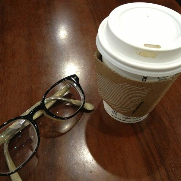 Photo taken at Starbucks by charlie K. on 1/24/2014