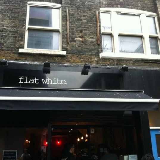 Photo taken at Flat White by Lito V. on 10/12/2013