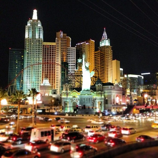 Photo taken at The Las Vegas Strip by Tyler F. on 1/19/2013