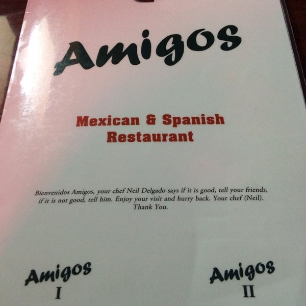 Photo taken at Amigos Mexican & Spanish Restaurant by Jim T. on 1/29/2014