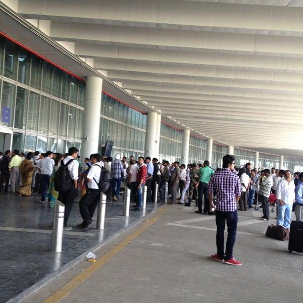 Photo taken at Netaji Subhash Chandra Bose International Airport (CCU) by Shigeru K. on 3/21/2013
