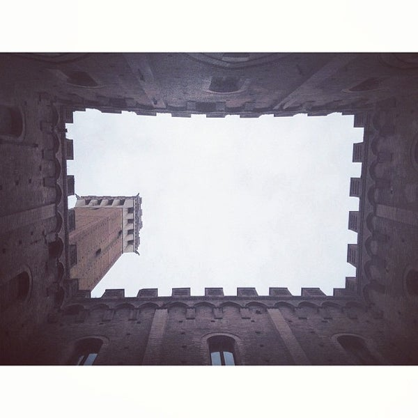 Photo taken at Piazza del Campo by Arthur F. on 4/4/2013