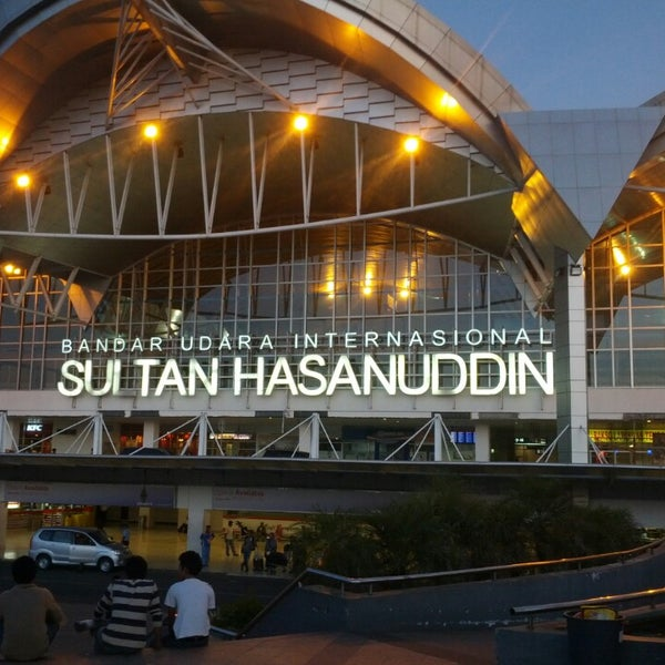 Photo taken at Sultan Hasanuddin International Airport (UPG) by Andi L. on 5/3/2013