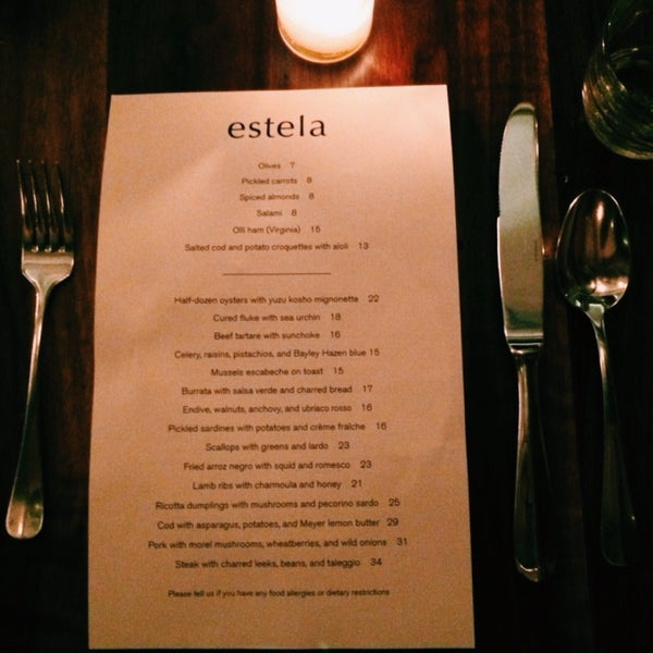 Photo taken at Estela by Oscar L. on 4/20/2015