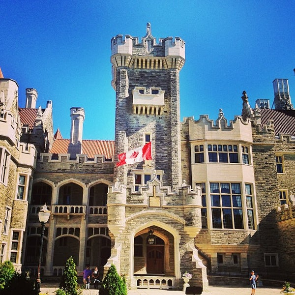 Photo taken at Casa Loma by RJ M. on 6/3/2013