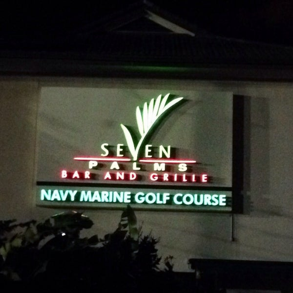 Photo taken at Navy Marine Golf Course by John C. on 12/20/2014