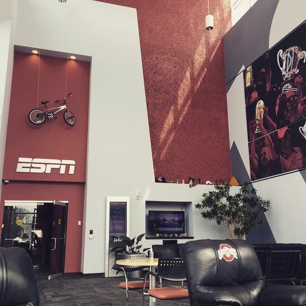 Photo taken at ESPN by Danish K. on 3/10/2015