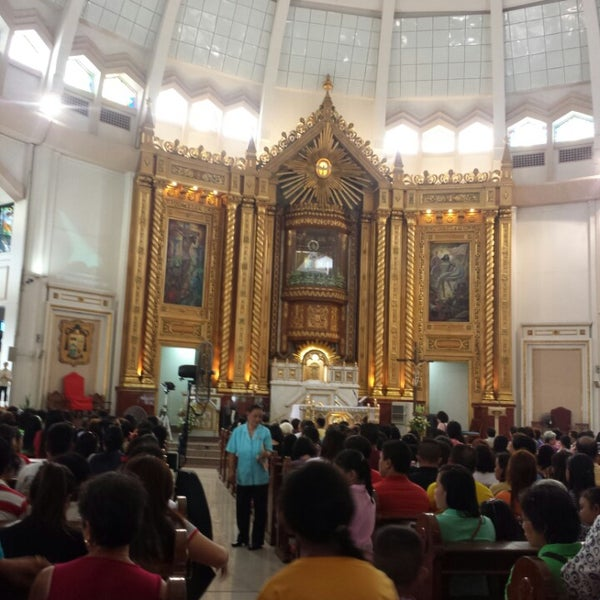 Photo taken at National Shrine of Our Lady of Peace and Good Voyage (Antipolo Cathedral) by ShObe A. on 9/27/2015