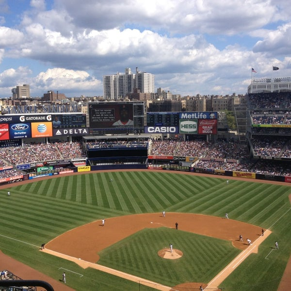 Photo taken at Yankee Stadium by Robert T. on 9/8/2013