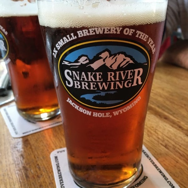 Photo taken at Snake River Brewery & Restaurant by Kathy F. on 6/14/2016
