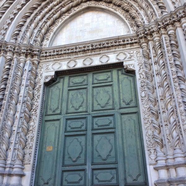 Photo taken at Basilica di San Fortunato by Elisa P. on 2/5/2016