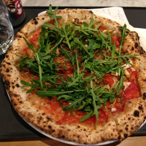 Photo taken at Franco Manca by Patrizia C. on 2/22/2013
