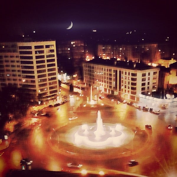 Photo taken at Plaza De España by Blogofago on 11/18/2012