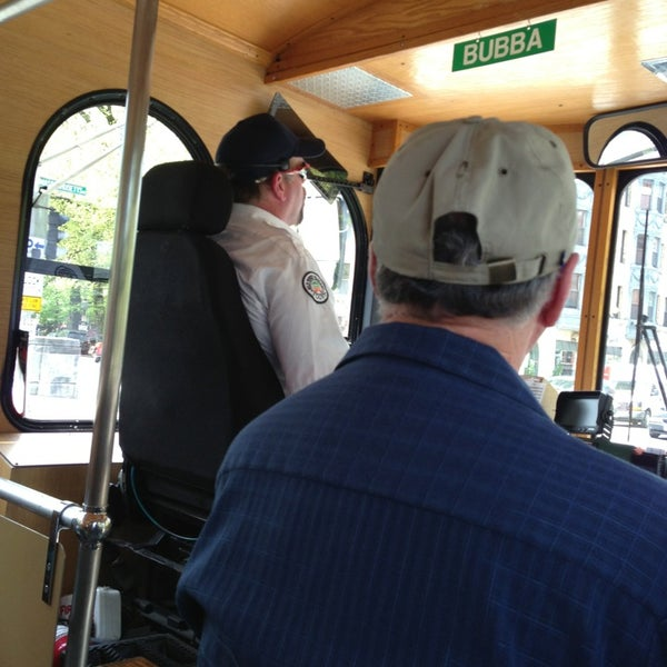 Photo taken at Old Town Trolley Tour by Ava B. on 5/12/2014