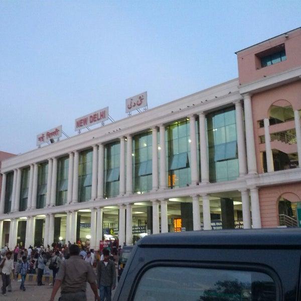 Photo taken at New Delhi Railway Station (NDLS) by Sanchit M. on 6/1/2013