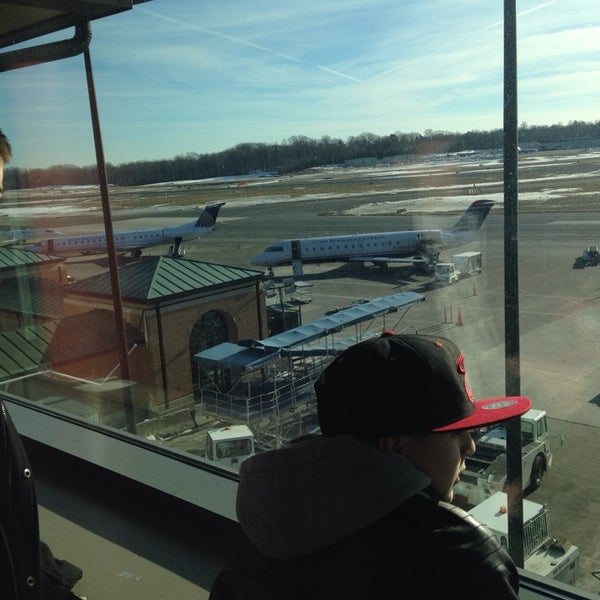 Photo taken at Westchester County Airport (HPN) by Rick S. on 3/9/2014