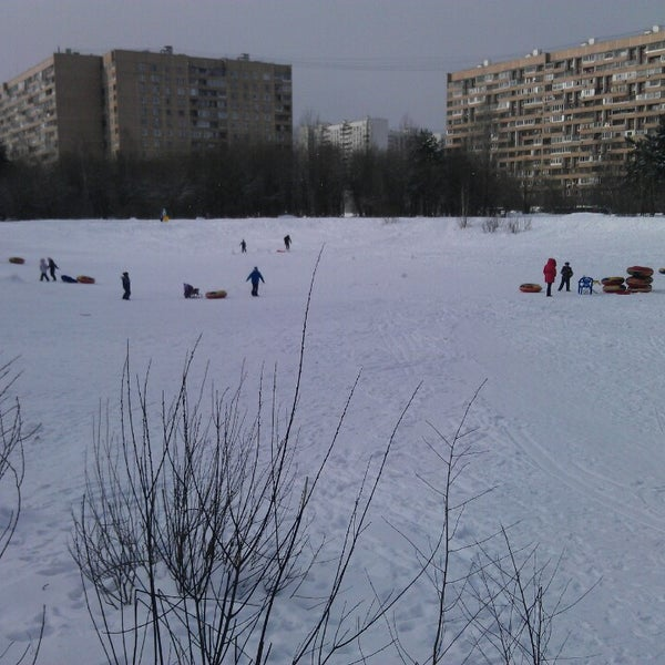 Photo taken at Салтыковский лесопарк by Evgeny G. on 3/2/2013