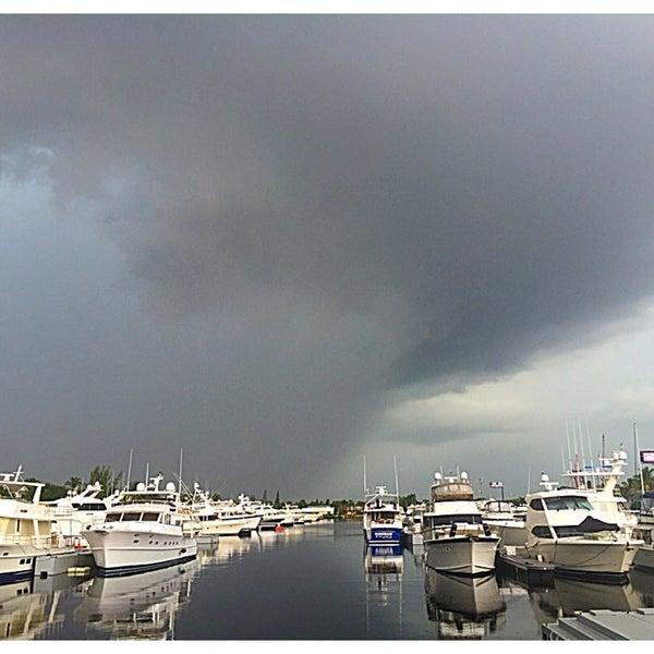 Photo taken at Marina Bay Marine Resort by Ian T. on 11/22/2015