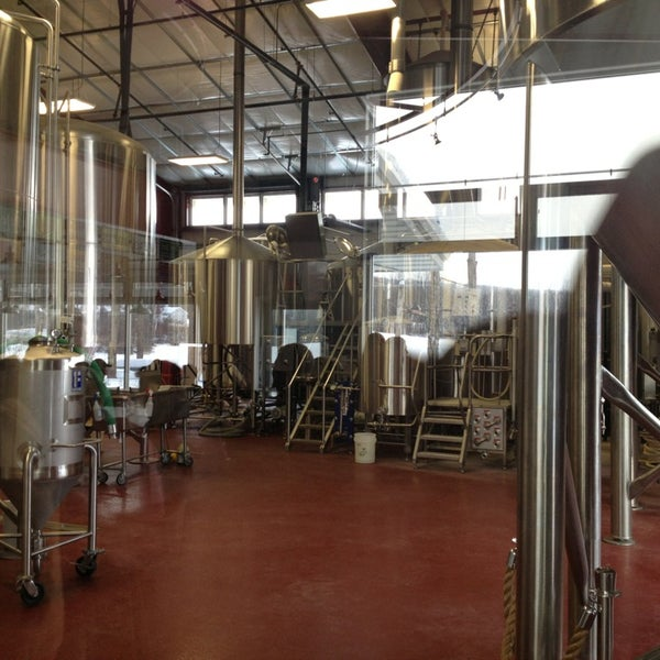Photo taken at Ithaca Beer Co. Taproom by jackie on 12/31/2012