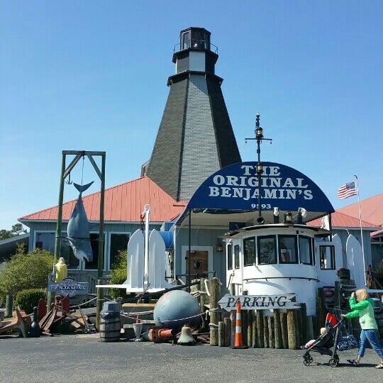 Photo taken at The Original Benjamin's Calabash Seafood by Dan M. on 3/30/2016