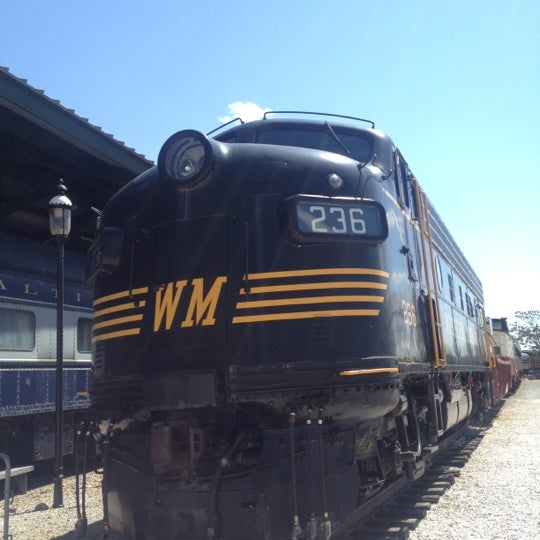 Photo taken at B & O Railroad Museum by William N. on 5/12/2013