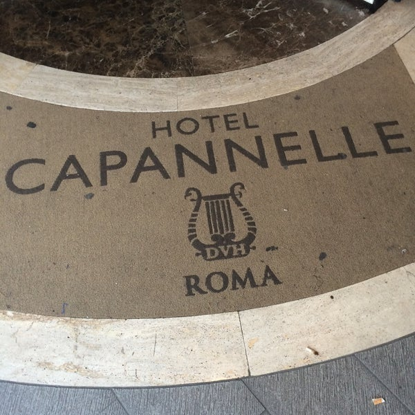 Photo taken at Hotel Capannelle by Cenk B. on 10/2/2015