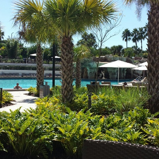 Photo taken at Marriott World Center Pool by *Zim* on 10/27/2014