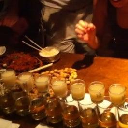 Try Junro Soju bomb in Hite beer http://www.talongin.com/2013/jinro-soju-bomb