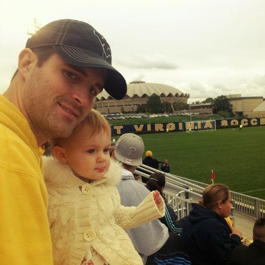 Photo taken at Dick Dlesk Soccer Stadium by Kristin G. on 10/7/2012