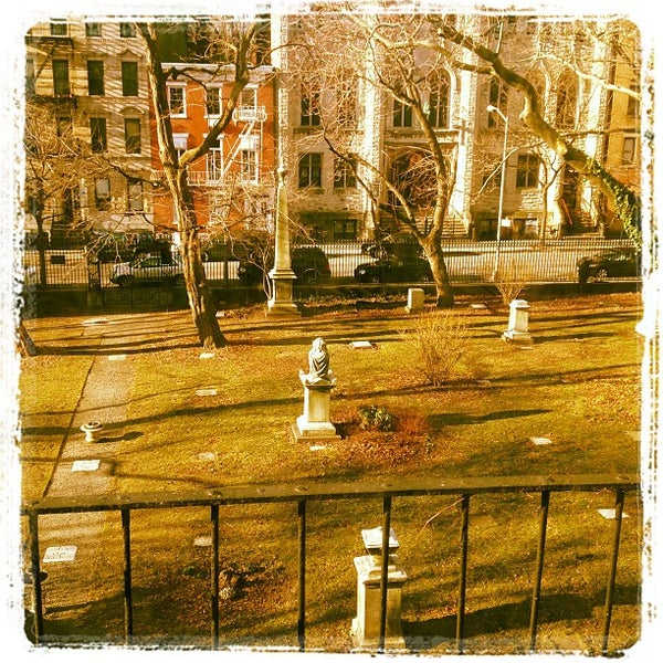 Photo taken at New York City Marble Cemetery by Matt C. on 3/17/2013