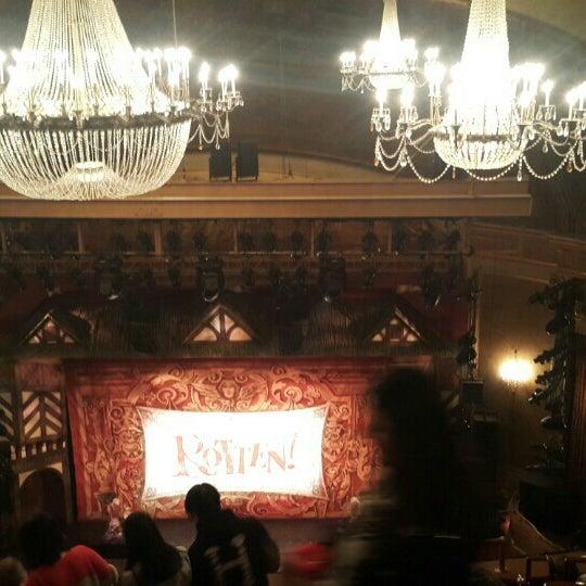 Photo taken at St. James Theatre by Gül Ö. on 10/17/2015