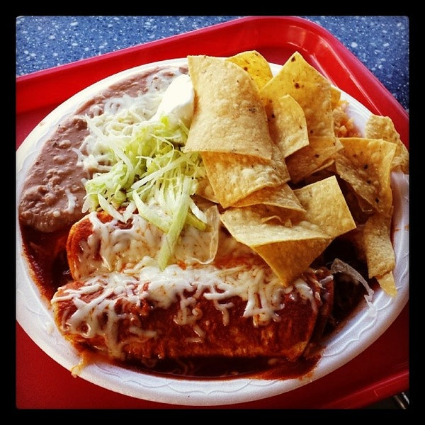 Photo taken at The Original Taco Factory by Jeff K. on 12/4/2013