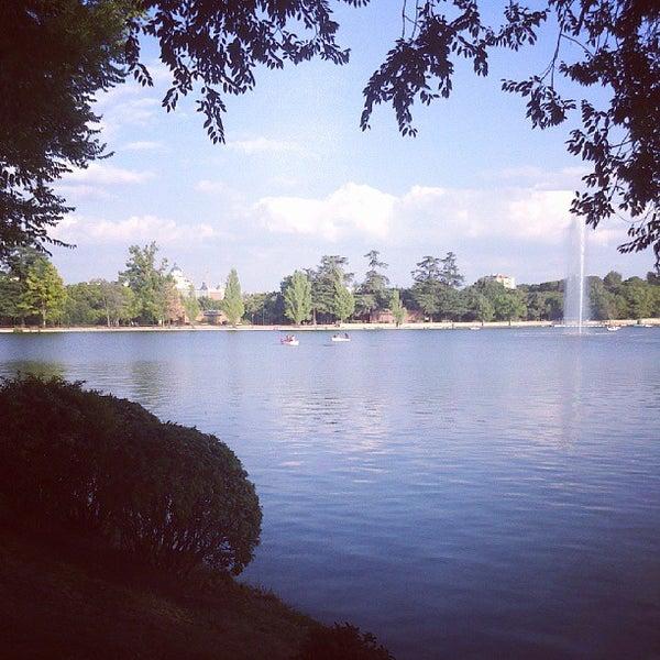 Photo taken at Lago de la Casa de Campo by S. on 9/7/2013