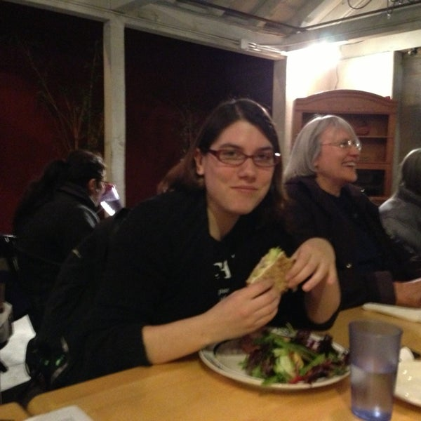 Photo taken at Sugar Plum Vegan Cafe by Stevenology on 1/16/2013