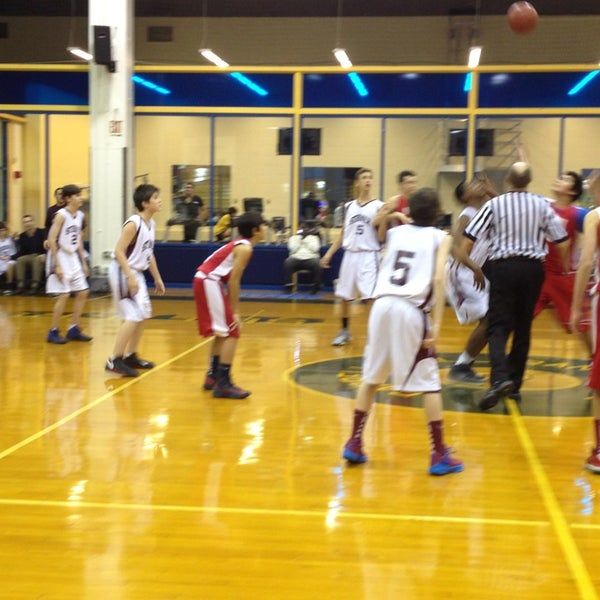 Photo taken at Pace University Gym by Nelson Y. on 1/9/2013