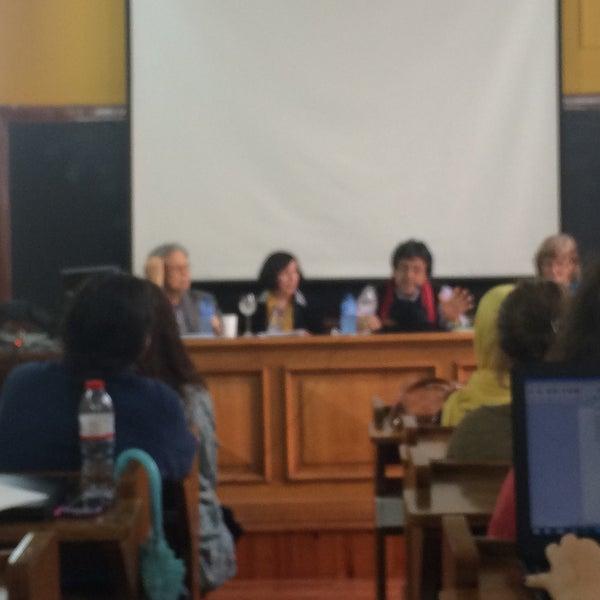 Photo taken at Facultad de Filología by Manuel Angel M. on 10/25/2016