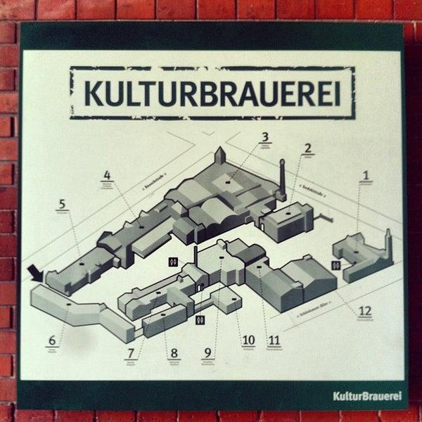 Photo taken at Kulturbrauerei by Fabrizio P. on 8/15/2013