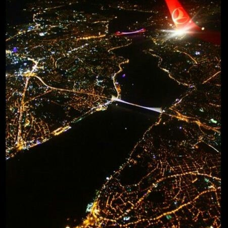 Photo taken at Fatih Sultan Mehmet Bridge by Büşra S. on 8/7/2013