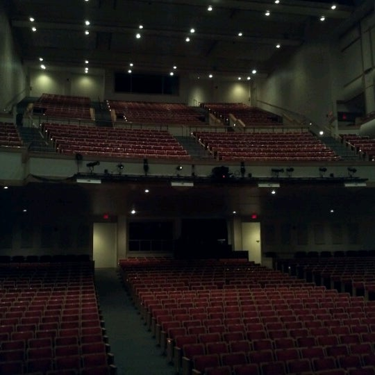 Photo taken at Curtis M. Phillips Center for the Performing Arts by Manas G. on 11/17/2012
